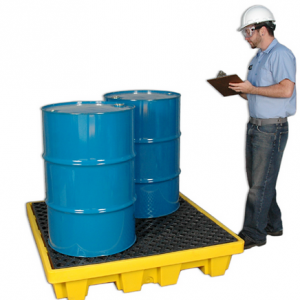 Ultra-Spill Pallet P4 Nestable Model