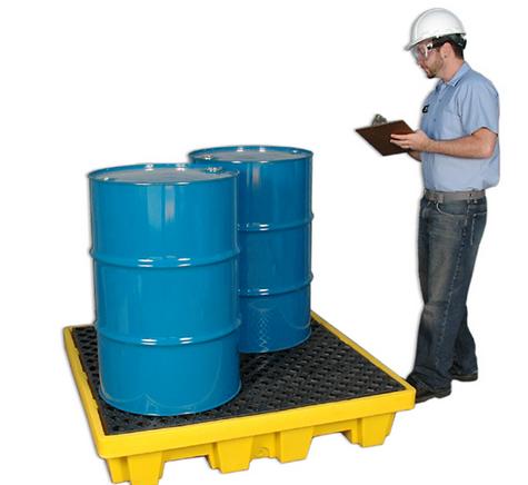 Ultra-Spill Pallet P4 Nestable Model