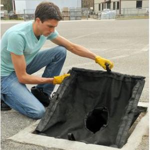 drain guard ajustable