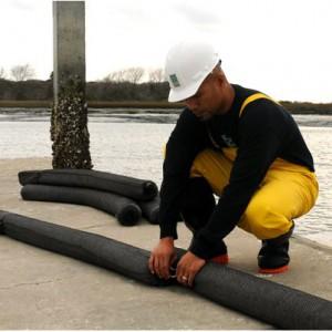 oil filter boom
